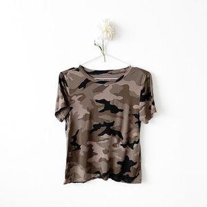 2/$20 Camo Print T-Shirt